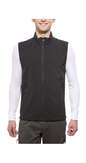 axant Alps Vest Herrer Softshell sort